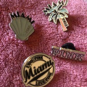 Pink Destination Pins